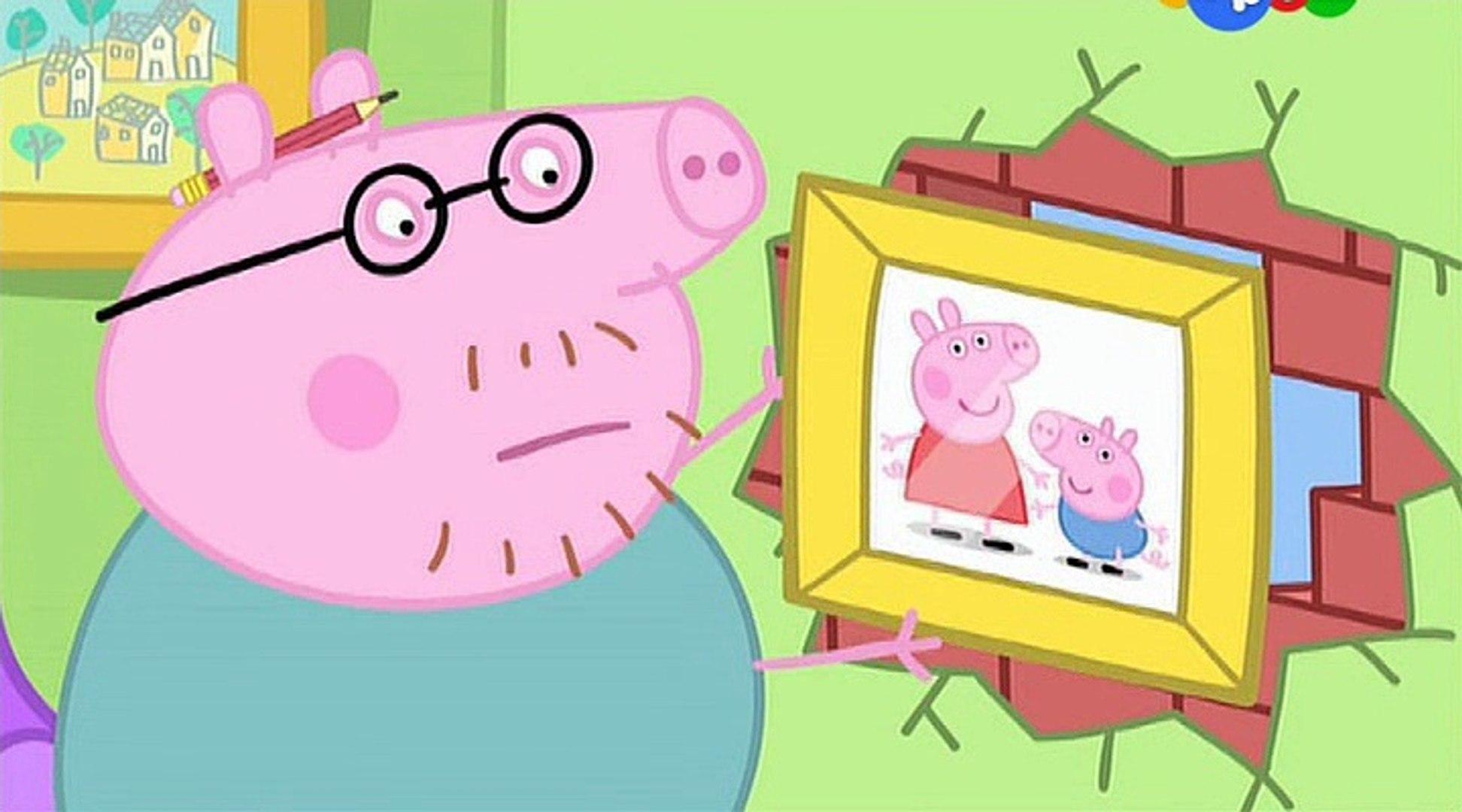 Свинка Пеппа- Папа вешает фотографию- Daddy Puts Up a Picture -Все серии подряд Свинка Пеппа