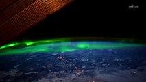 Des Aurores boréales filmées de l'espace par la NASA