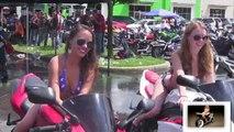 Sexy Girl Motobike Wash Sexy Girl Dancing