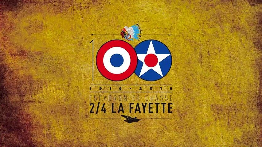 """100 ans de l'escadron de chasse 2/4 """"La Fayette"""""""