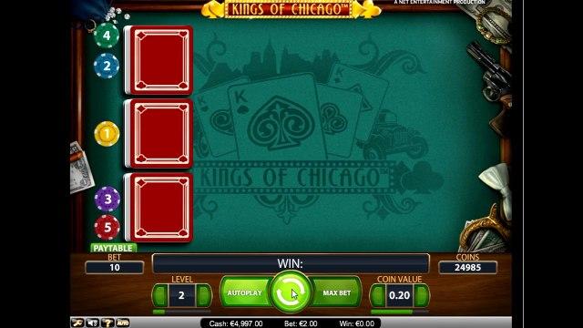 Секреты игры в слот Короли Чикаго (king of chicago): ещё больше опций!