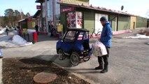 Le Podride, le vélo à quatre roues et carrosserie pour les climats extrêmes