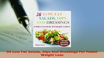 Download  56 Low Fat Salads Dips And Dressings For Faster Weight Loss PDF Online