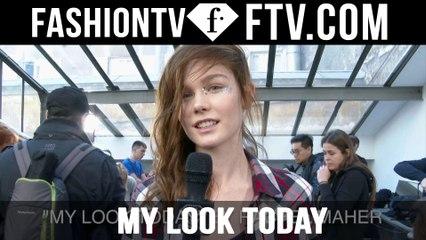 Model Talks F/W 16-17 My Look Today pt.3 | FTV.com