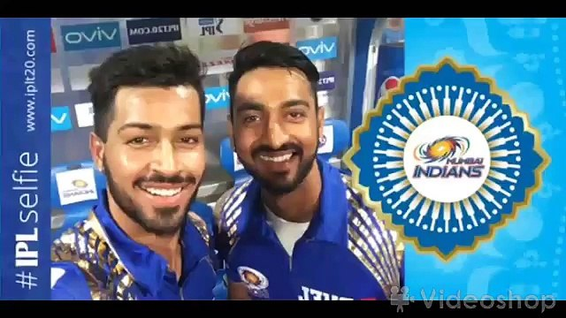 IPL 2016 - Hardik Pandya vs Kunal Pandya