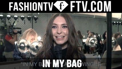 Model Talks F/W 16-17 In My Bag pt.8 | FTV.com