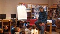 Festival Livre et Mer : François Place rencontre des élèves
