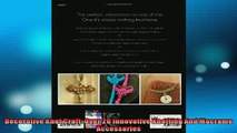 READ book  Decorative Knot Craft Over 20 Innovative Knotting And Macrame Accessories  FREE BOOOK ONLINE