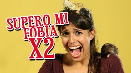 Desafío: supero mi fobia X2 | BrencaLook