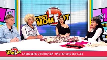 """C'est le moment ! """"La broderie d'Hortensia: une histoire de filles""""(21/04/16) Partie 1"""