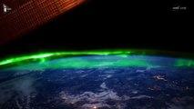 La Nasa capture des images spectaculaires d'aurores boréales depuis l'espace