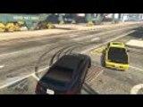 GTA V SOLO Drift Vol.15 Dock Drifting and Drifting around People/Cars