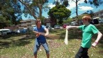 SUPER SPOON WARS - A Super-Powered Fight with Wooden Spoons