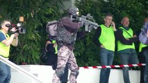 Simulation d'attaque terroriste à Cannes en prévision du festival