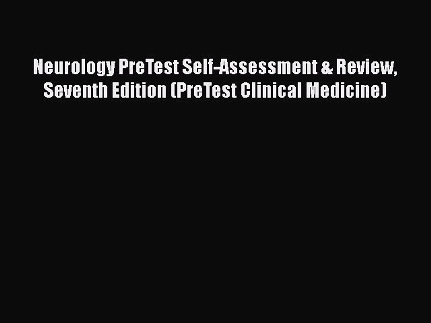 Emergency Medicine PreTest Self-Assessment and Review, Second Edition (PreTest Clinical Medicine)