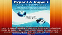 READ book  Export  Import  Winning in the Global Marketplace A Practical HandsOn Guide to Success  BOOK ONLINE