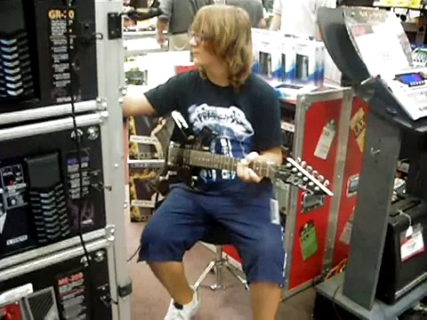 Guitar Center Alberto c'è l'ha fatta