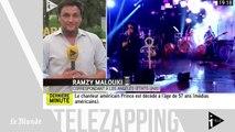 Télézapping : mort de Prince, «David Bowie de la musique noire»