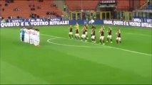 Crazy Milan Players Did A Haka Against The Carpi!