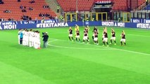 AC Milan players inexplicably performed their own haka before their match with Carpi in Serie A on Thursday evening