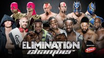 WWE Elimination Chamber 2015 - Elimination Chamber tag team match - WWE Tag Team Championship