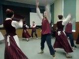 Latvian dance by Latvian students of Preili Gymnasium - Comenius Meeting - November 2013