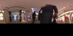 360 degree travel video: France, Cannes, shopping