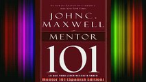 READ Ebooks FREE  Mentor 101 Spanish Edition Full EBook