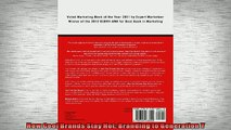 FREE PDF  How Cool Brands Stay Hot Branding to Generation Y  BOOK ONLINE