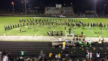 HHS Band of Gold 2015 - Ellis/Hawkins game
