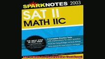 READ book  SAT II Math IIc SparkNotes Test Prep Full Free