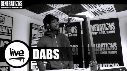 Dabs - Seul Dans Le Noir (Live des studios de Generations)