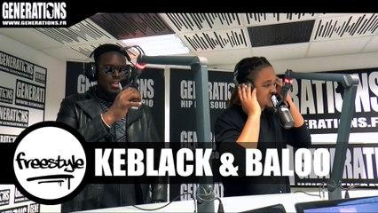 Quand Baloo et Keblack remixent le titre J'ai Deconné