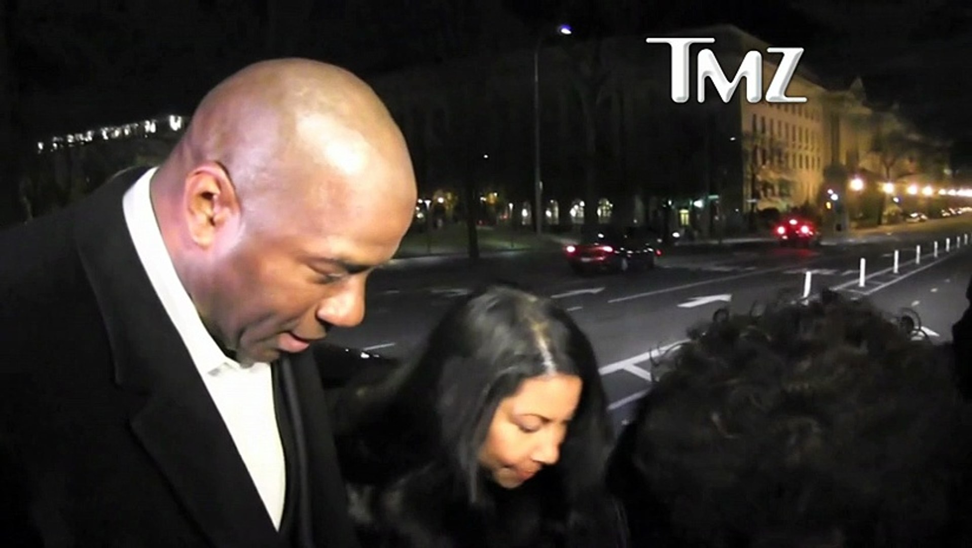 Magic Johnson and Samuel L. Jackson Party At First Ladys 50th Birthday