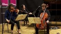 "Trio Karénine interprète la 5ème Dumka (Allegro) du trio ""Dumky"" d'Antonin Dvořák  | Le live de la Matinale"