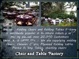 Discount Folding Chairs and Folding Tables Factory