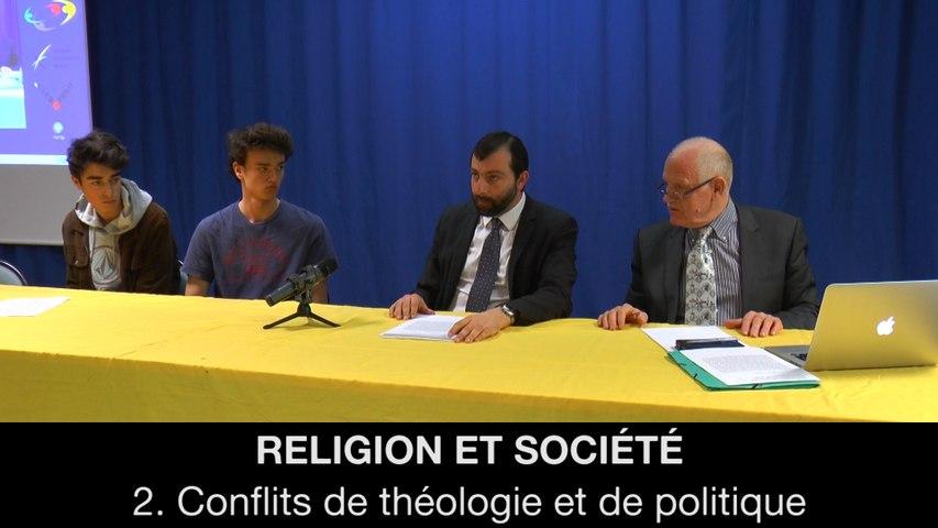 Religion et société : 2. Conflits de théologie et de politique, Gaëtan DEMULIER