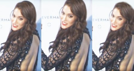 Hot Model  | Back Exposing at Unveiling Forevermark 1st Jewellry Line Fashion Show
