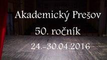 Akademický Prešov 2016 - POZVÁNKA
