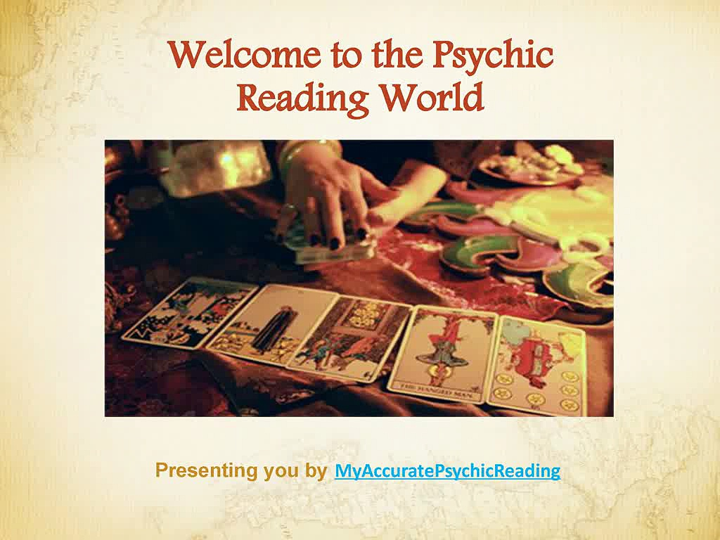 Introduction to Psychic Reading world