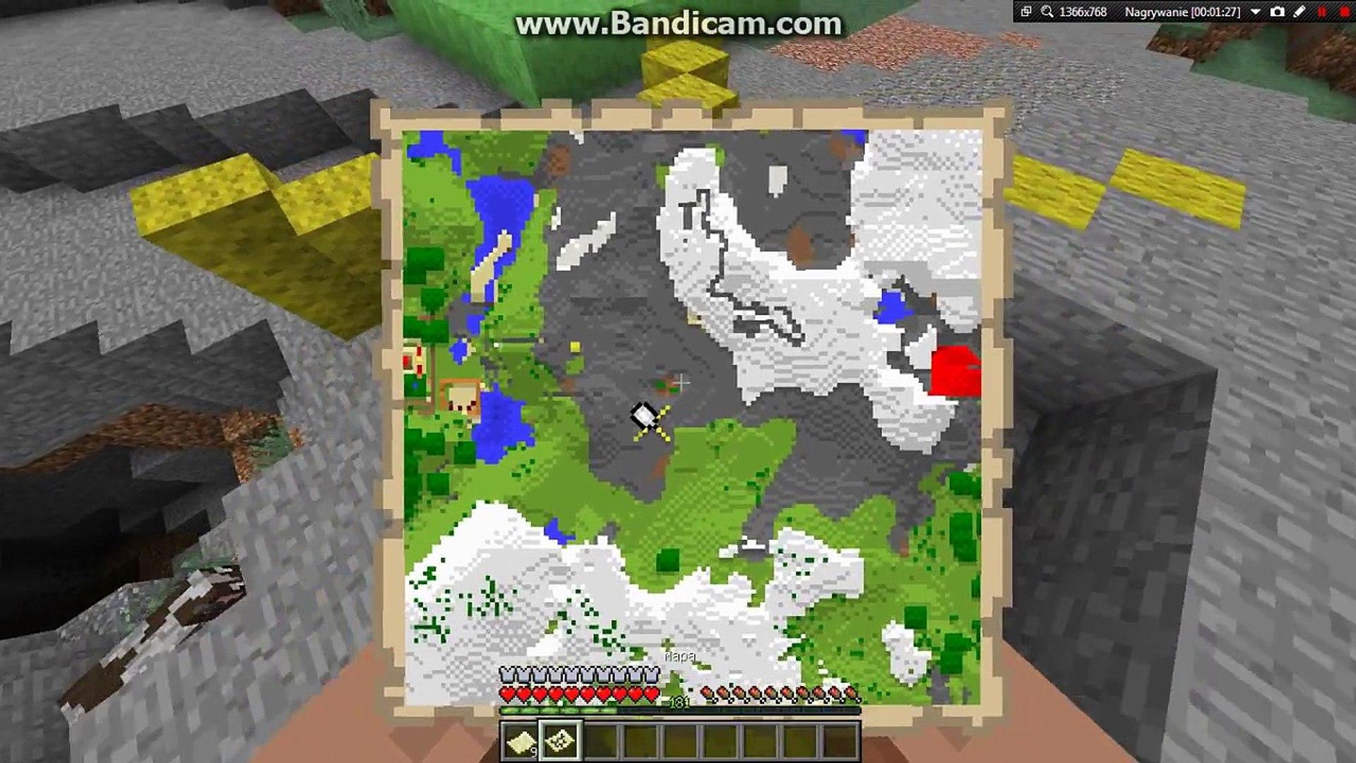 Minecraft Jak Zrobić Wielką Mapę Na ścianie Video Dailymotion