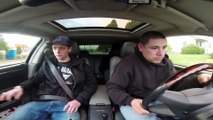 Guy Jumps out of a moving car!! Funny prank - Funny videos