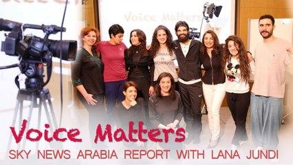 Mike Massy - Voice Matters [Sky News Arabia Report]