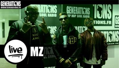 MZ - #BBB [Black Bottle Boys] (Live des studios de Generations)