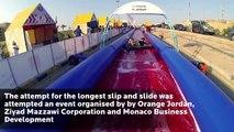Longest Slip and Slide, Jordan - Guinness World Records