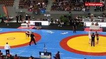 Championnats d'Europe de luttes celtiques. Thomas Kerebel, champion d'Europe  de Back-Hold