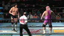 Jake Lee vs. Yutaka Yoshie (4/18/16)