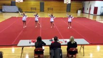 Cheer tryouts FHS