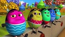 Ten Little Humpties | 3D Rhymes| Humpty Dumpty Song | Nursery Rhymes And Kids Songs