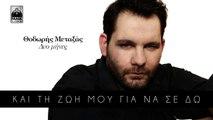 Θοδωρής Μεταξάς - Δυο Μηνες | Thodoris Metaxas - Dio Mines - Official Lyric Video HQ